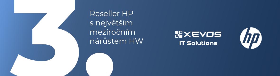 XEVOS získal ocenění za prodej výrobků HP